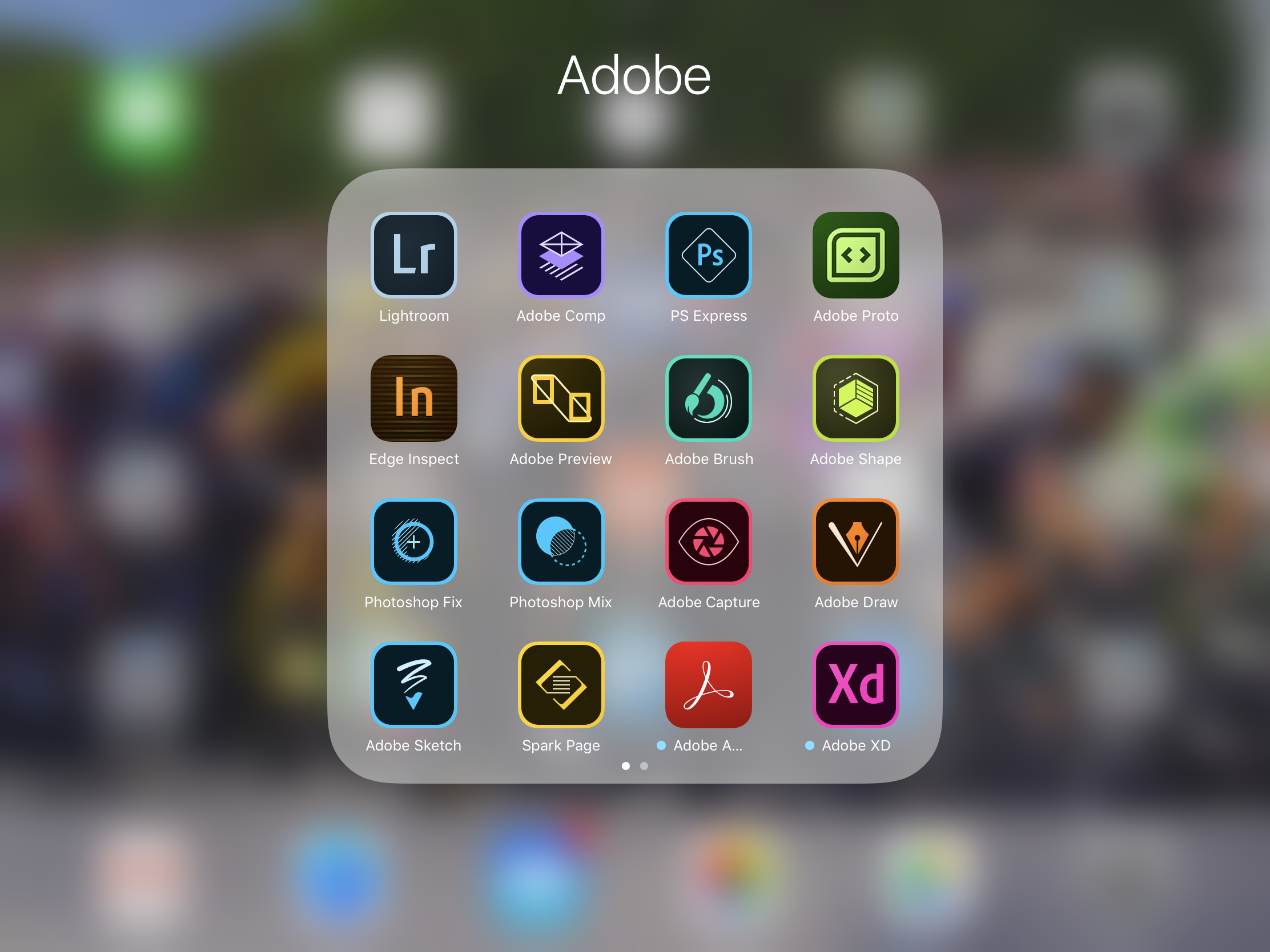 Adobe Lightroom iOS